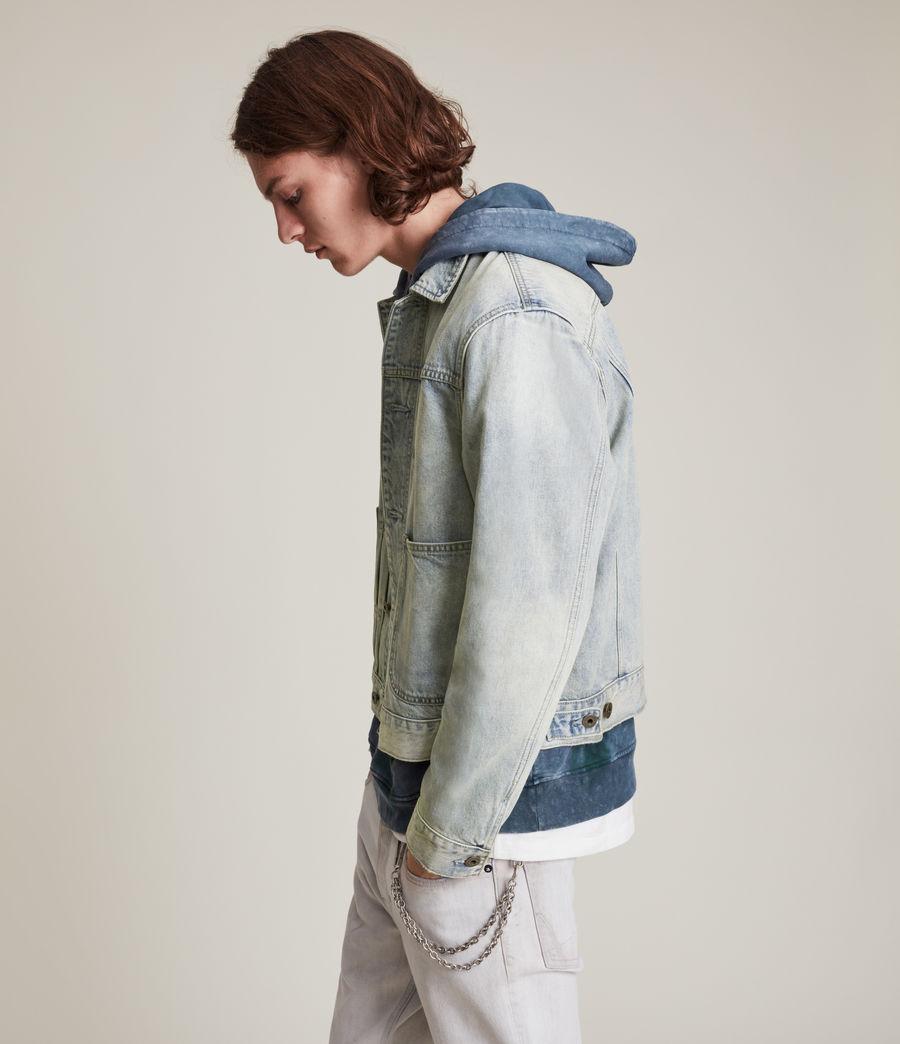 Herren Malham Denim Jacket (tinted_indigo) - Image 5