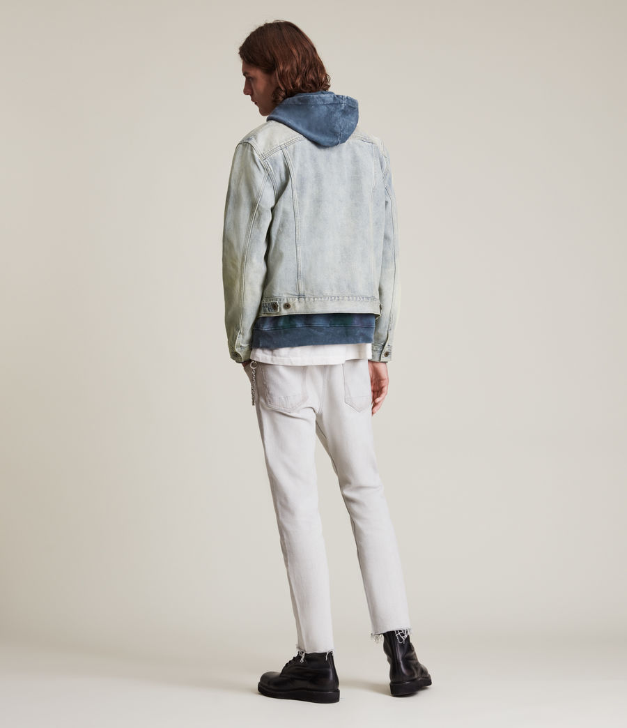 Herren Malham Denim Jacket (tinted_indigo) - Image 6
