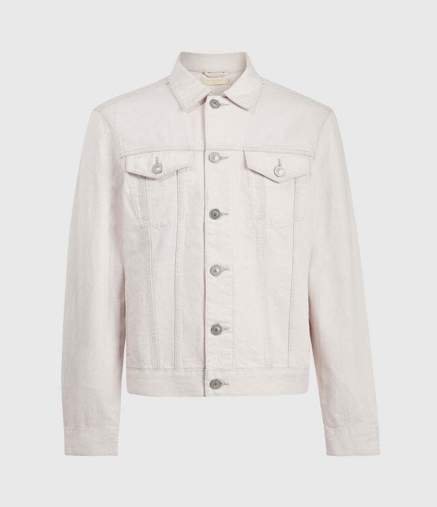 Men's Jalna Denim Jacket (overdye_pink) - Image 1