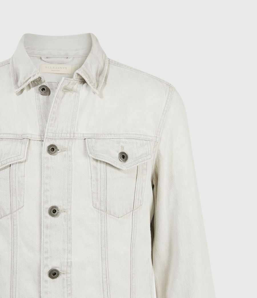 Hombres Kota Denim Jacket (light_grey) - Image 4