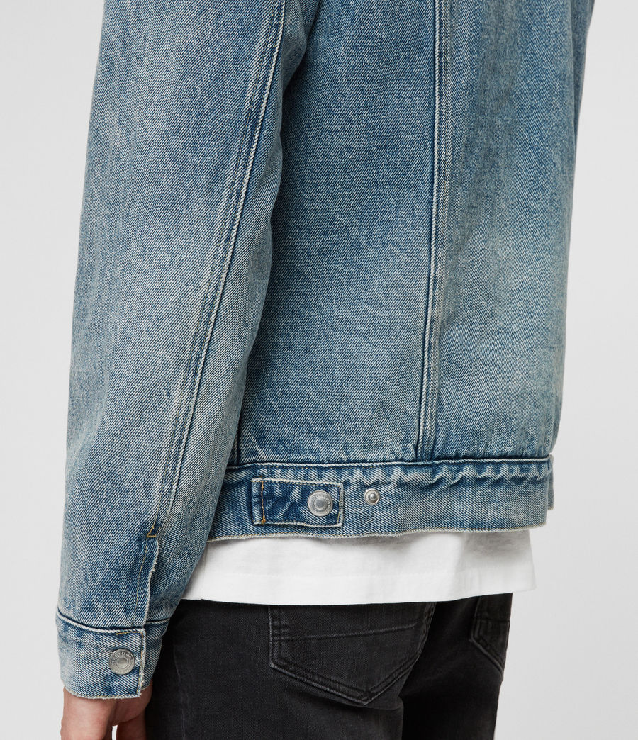 Men's Interbay Denim Jacket (mid_indigo_blue) - Image 2