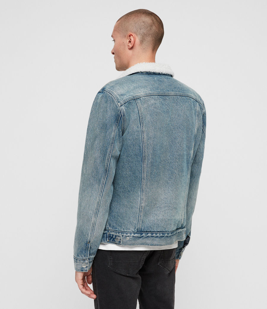 Men's Interbay Denim Jacket (mid_indigo_blue) - Image 5