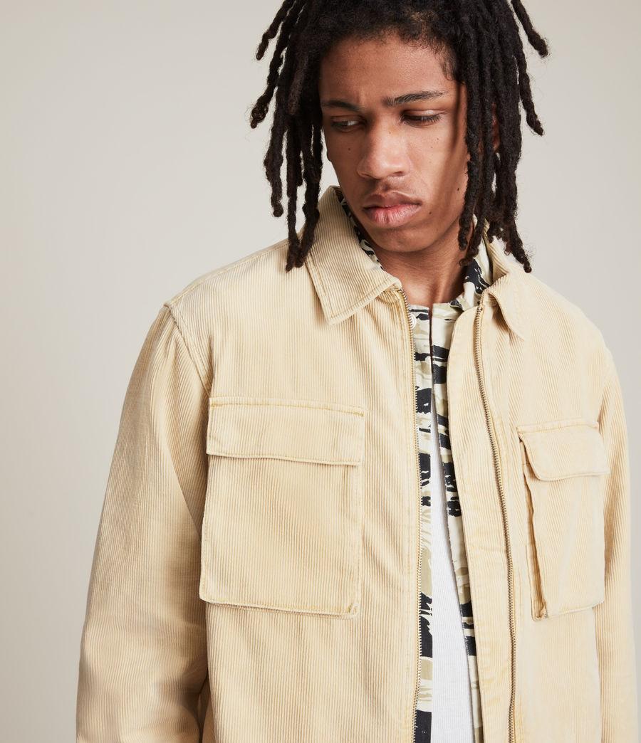 Herren Clifton Organic Cotton Jacket (ravine_yellow) - Image 2