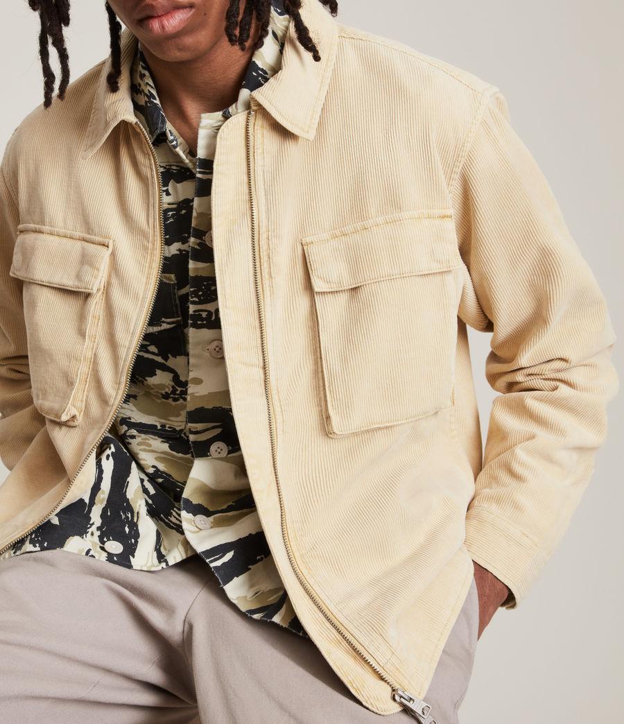 Herren Clifton Organic Cotton Jacket (ravine_yellow) - Image 4