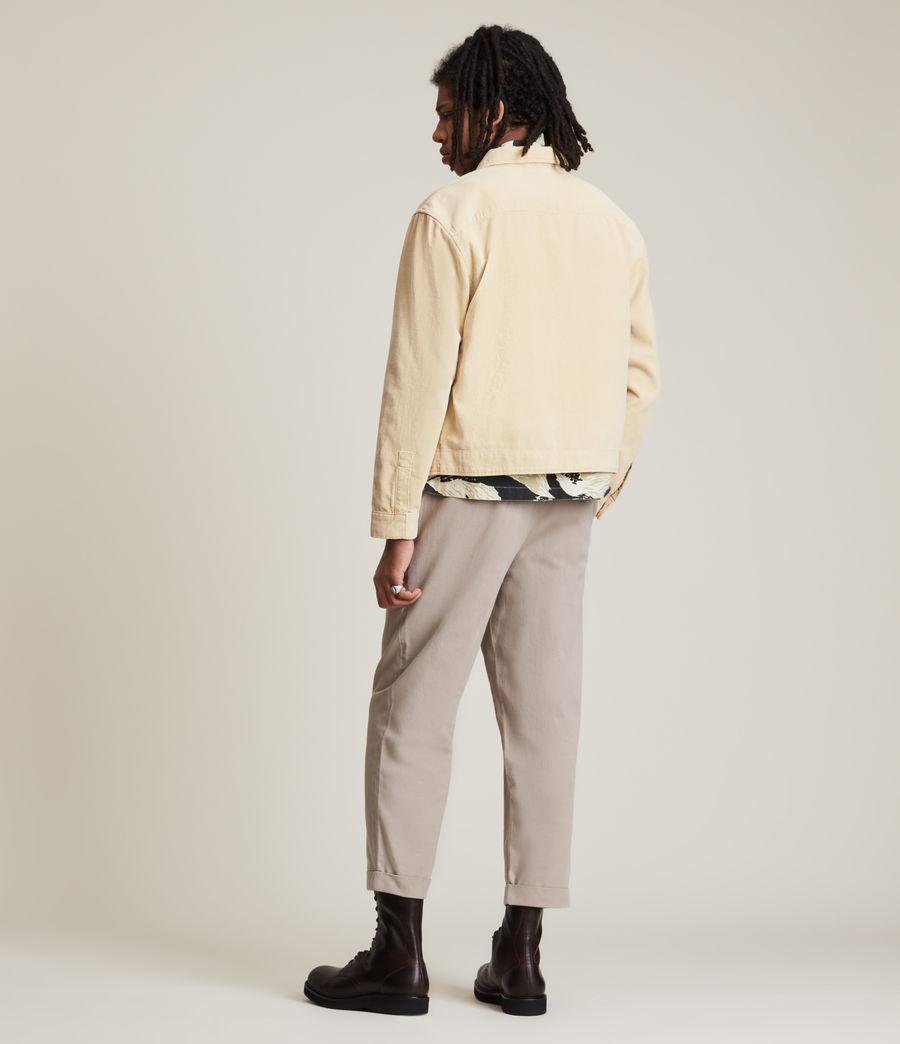 Herren Clifton Organic Cotton Jacket (ravine_yellow) - Image 5