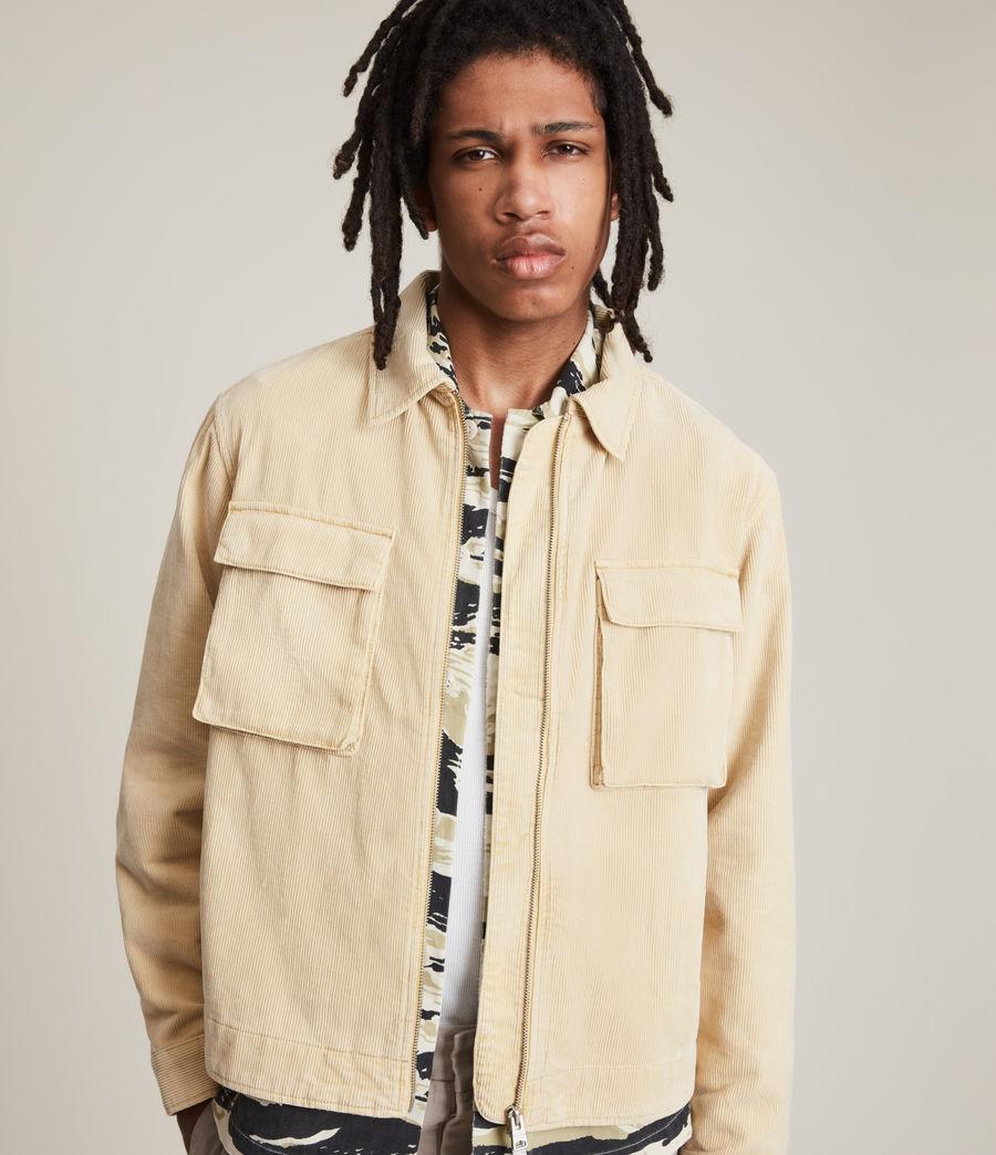 Herren Clifton Organic Cotton Jacket (ravine_yellow) - Image 6