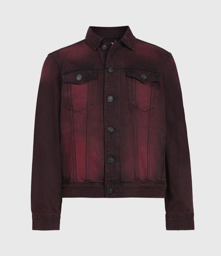 Men's Iskar Denim Jacket (junberry_red) - Image 2