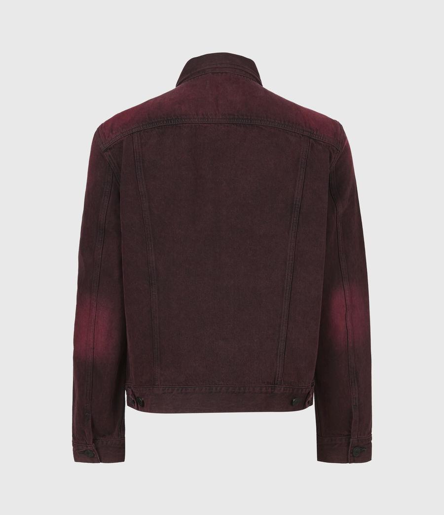 Men's Iskar Denim Jacket (junberry_red) - Image 3