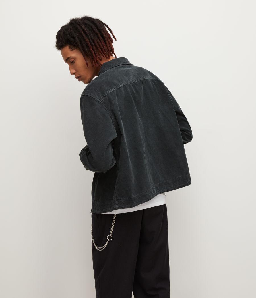 Mens Clifton Organic Cotton Jacket (jet_black) - Image 3