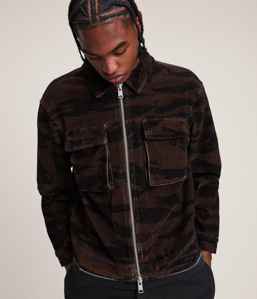 Men's Haxby Jacket (dusty_khaki_brown) - Image 2