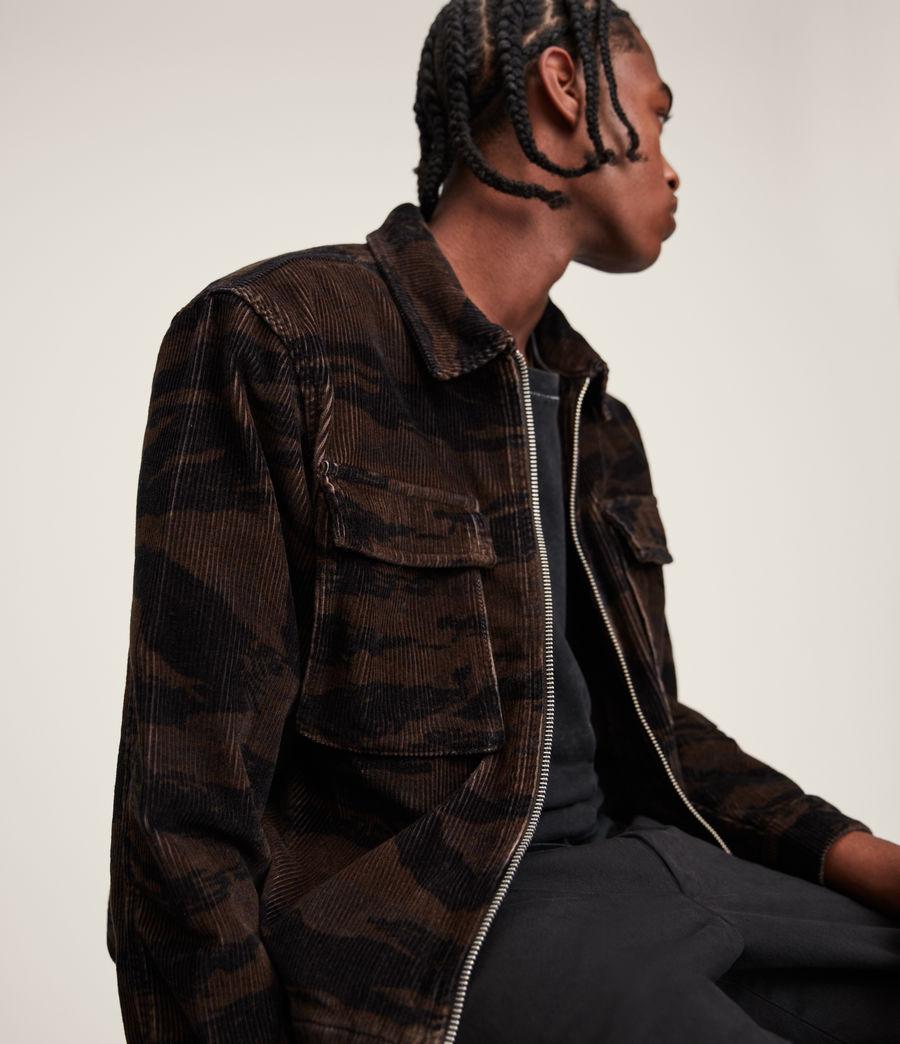 Men's Haxby Jacket (dusty_khaki_brown) - Image 4