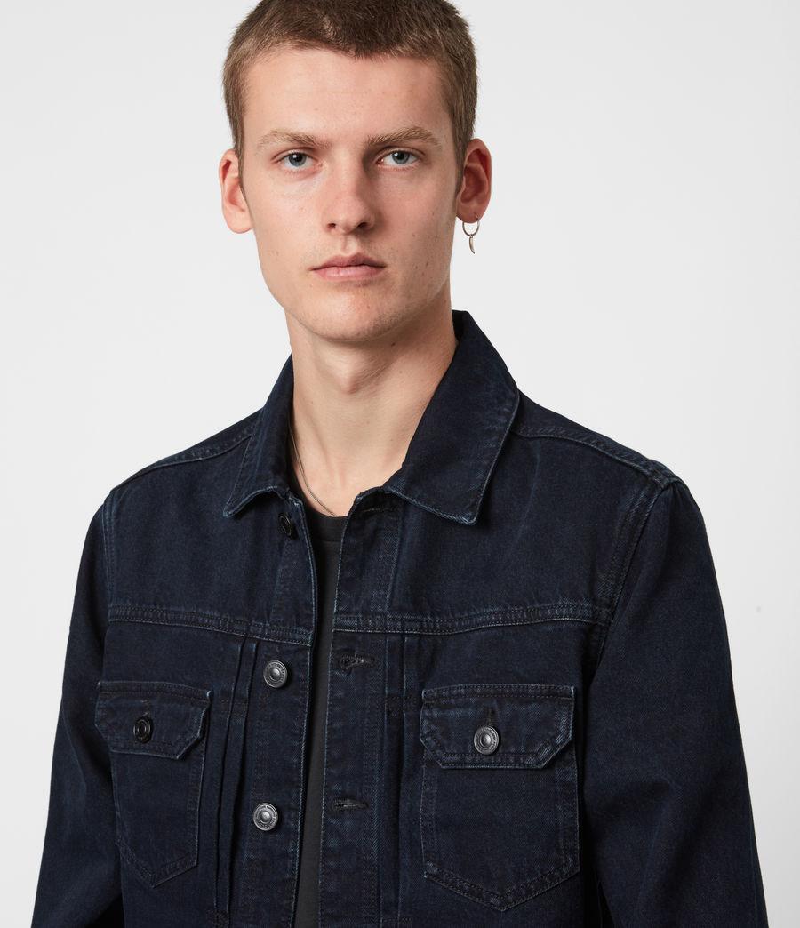 Men's Tegel Denim Jacket (blue_black) - Image 1