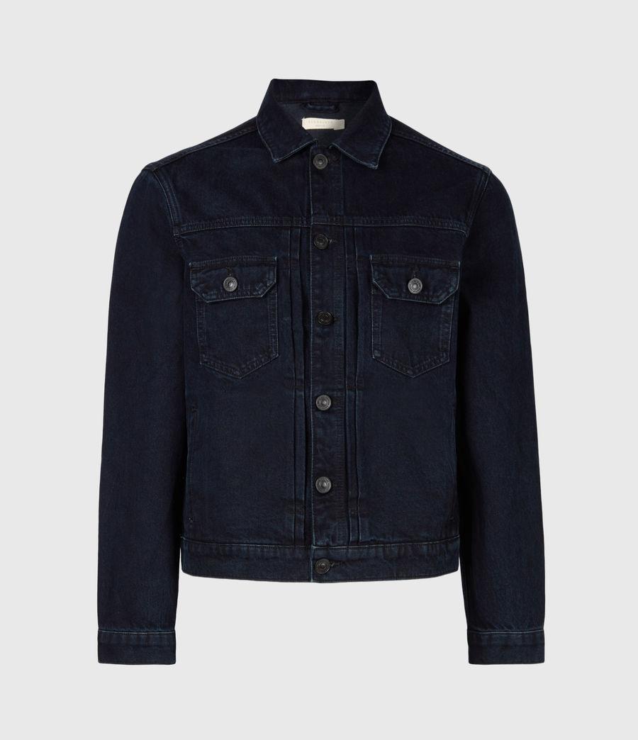Men's Tegel Denim Jacket (blue_black) - Image 2