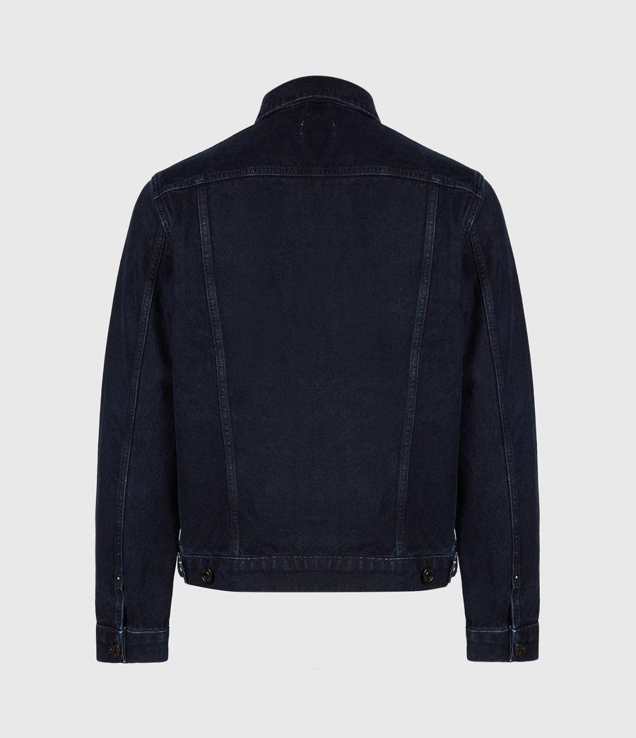 Men's Tegel Denim Jacket (blue_black) - Image 3