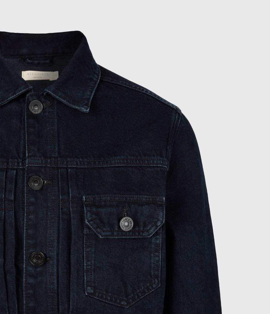 Men's Tegel Denim Jacket (blue_black) - Image 5
