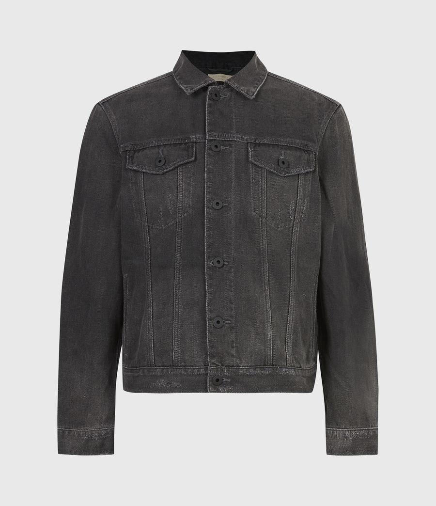 Men's Ceremony Denim Jacket (washed_black) - Image 2