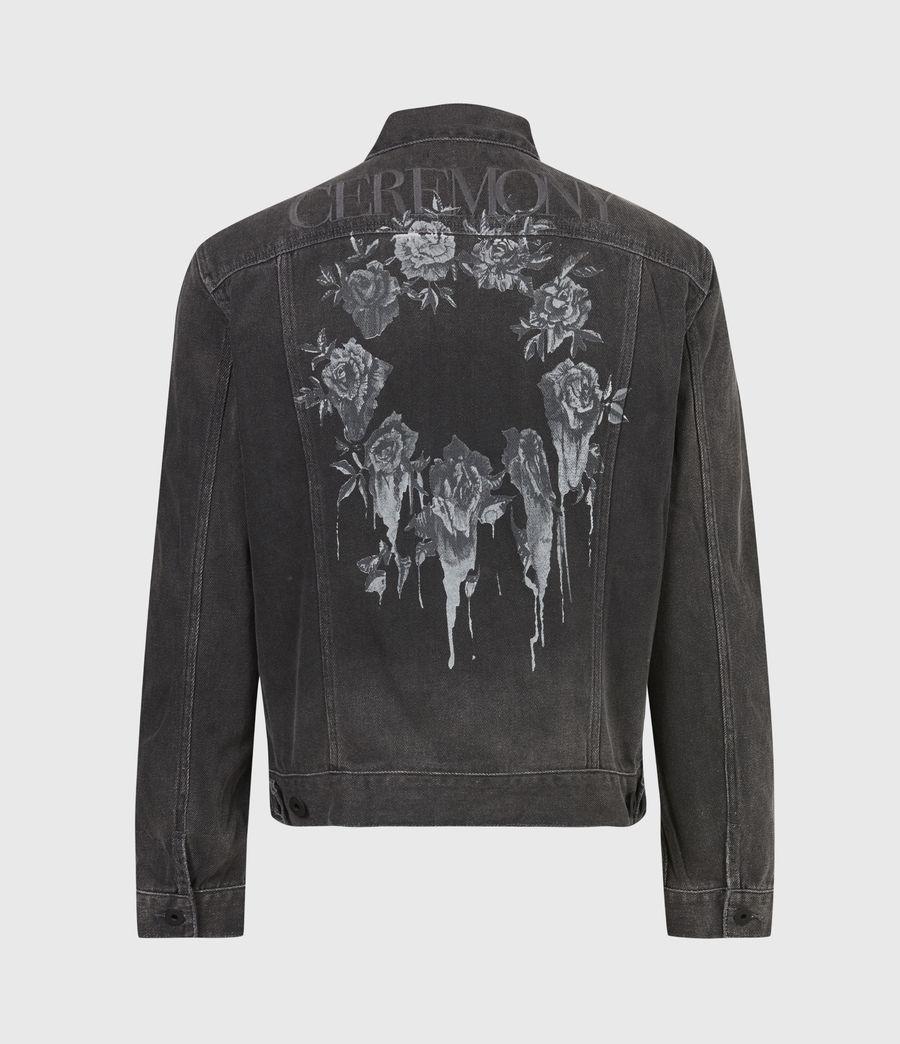 Men's Ceremony Denim Jacket (washed_black) - Image 3