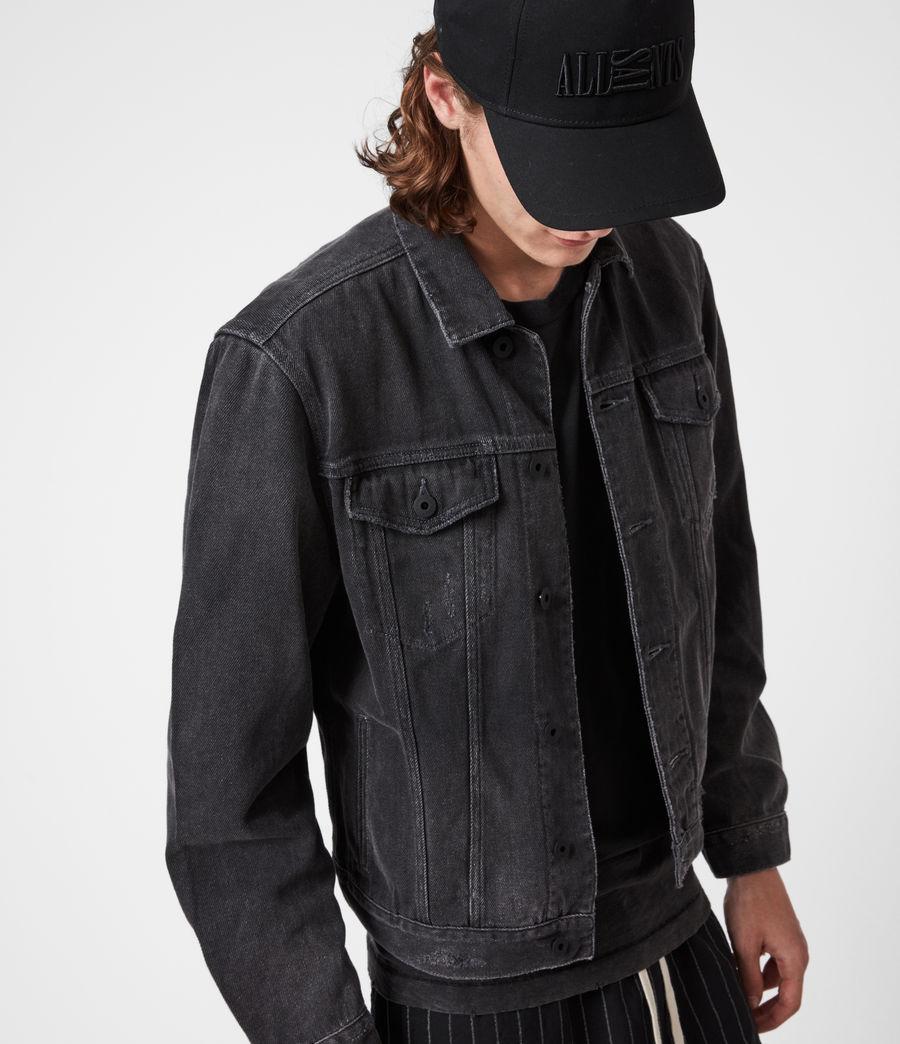Men's Ceremony Denim Jacket (washed_black) - Image 6