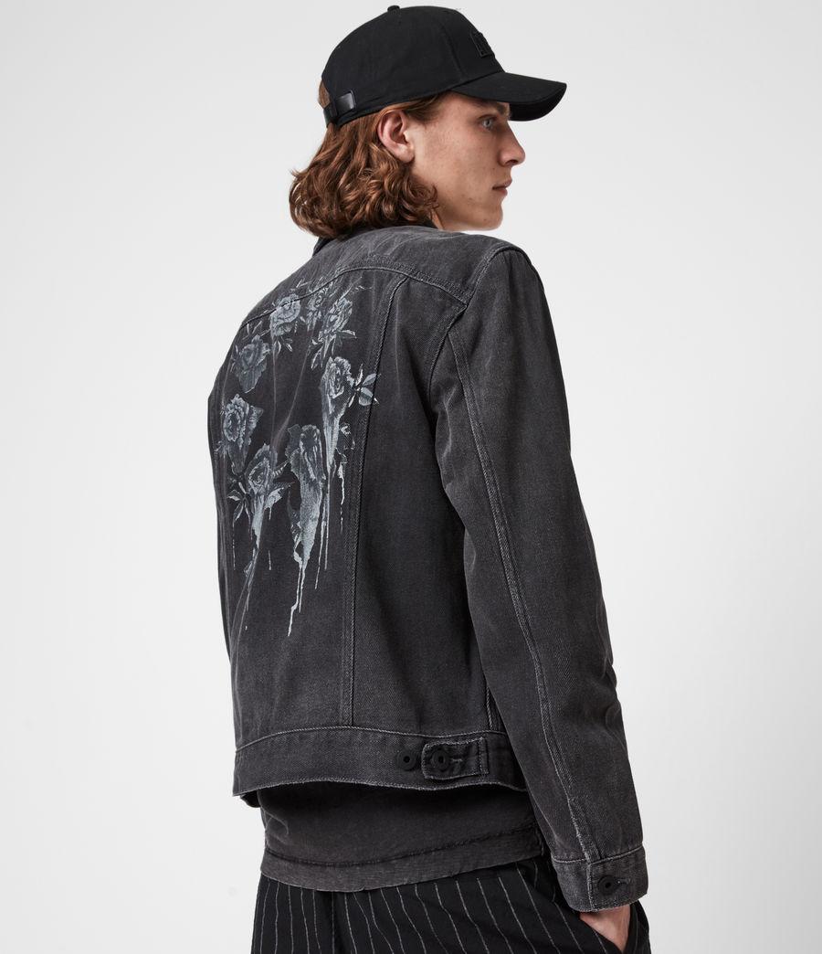Men's Ceremony Denim Jacket (washed_black) - Image 7