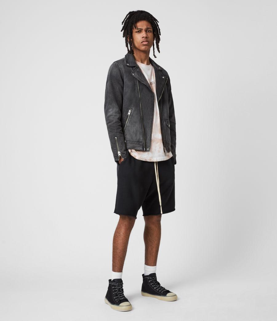 Men's Burgess Denim Jacket (washed_black) - Image 6