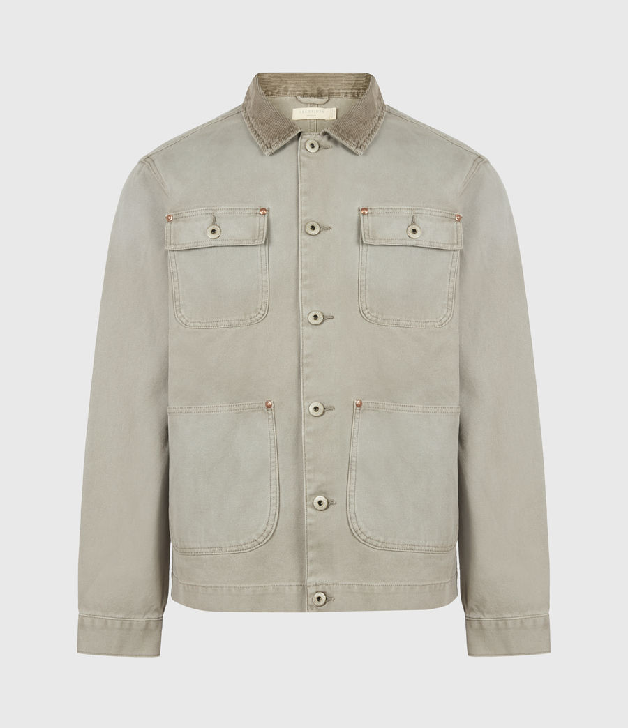 Herren Callum Denim Jacket (pewter_grey) - Image 2
