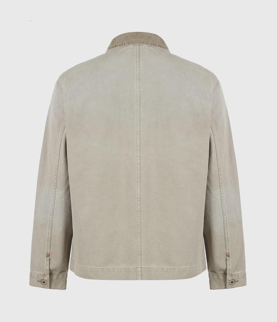 Herren Callum Denim Jacket (pewter_grey) - Image 3