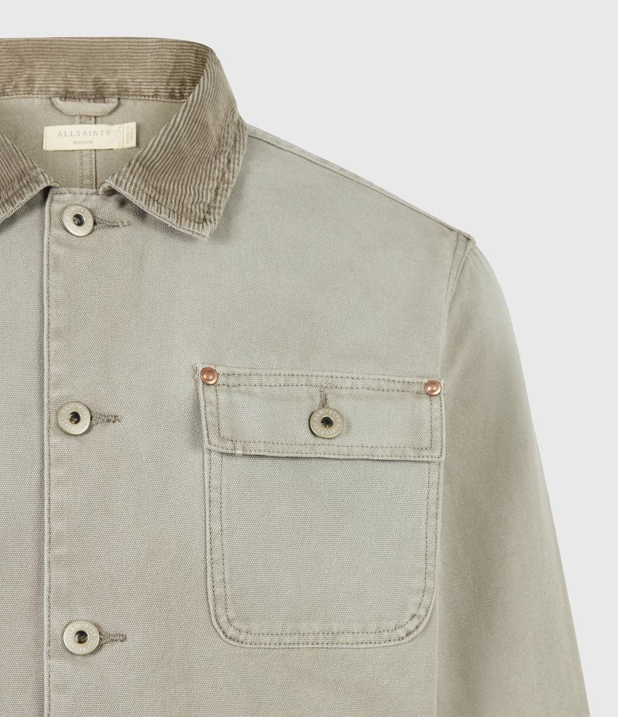Herren Callum Denim Jacket (pewter_grey) - Image 5