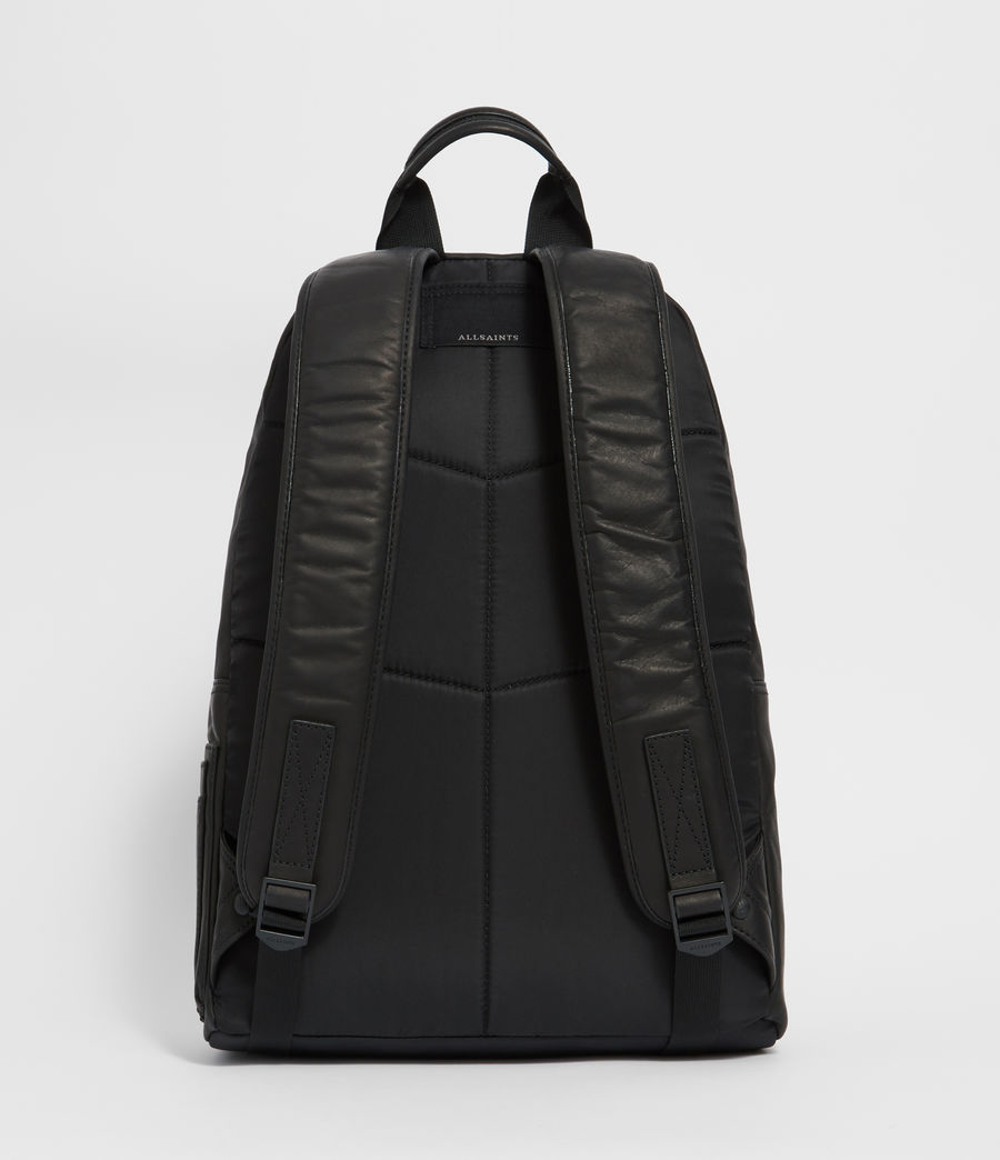 Men's Hayes Leather Rucksack (black) - Image 7