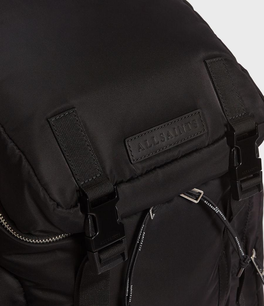 Uomo Zaino Elsdale - Con tasche multiple e dettagli in pelle (black) - Image 5
