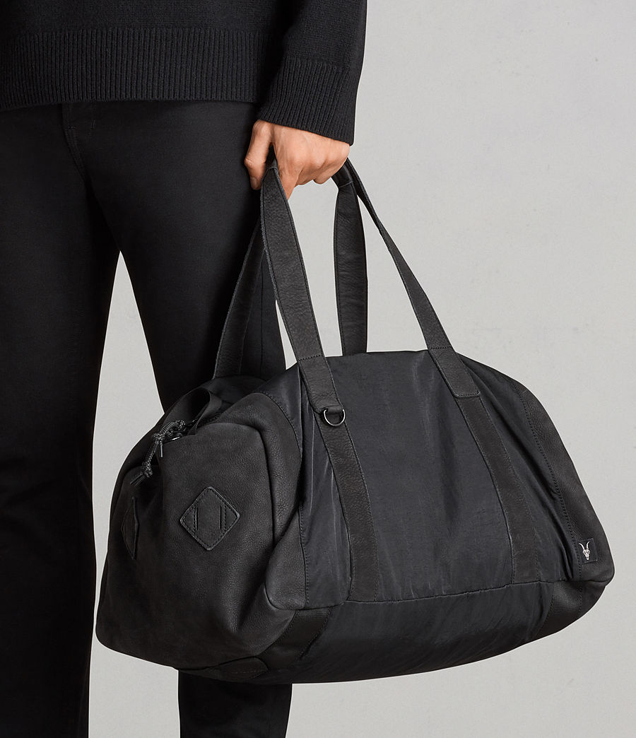Mens Peak Holdall (washed_black) - Image 7