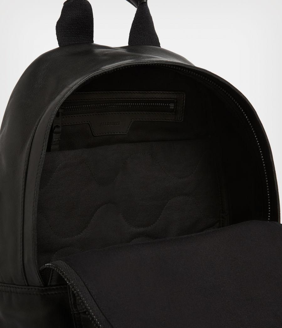 Men's Arena Leather Backpack (black) - Image 3