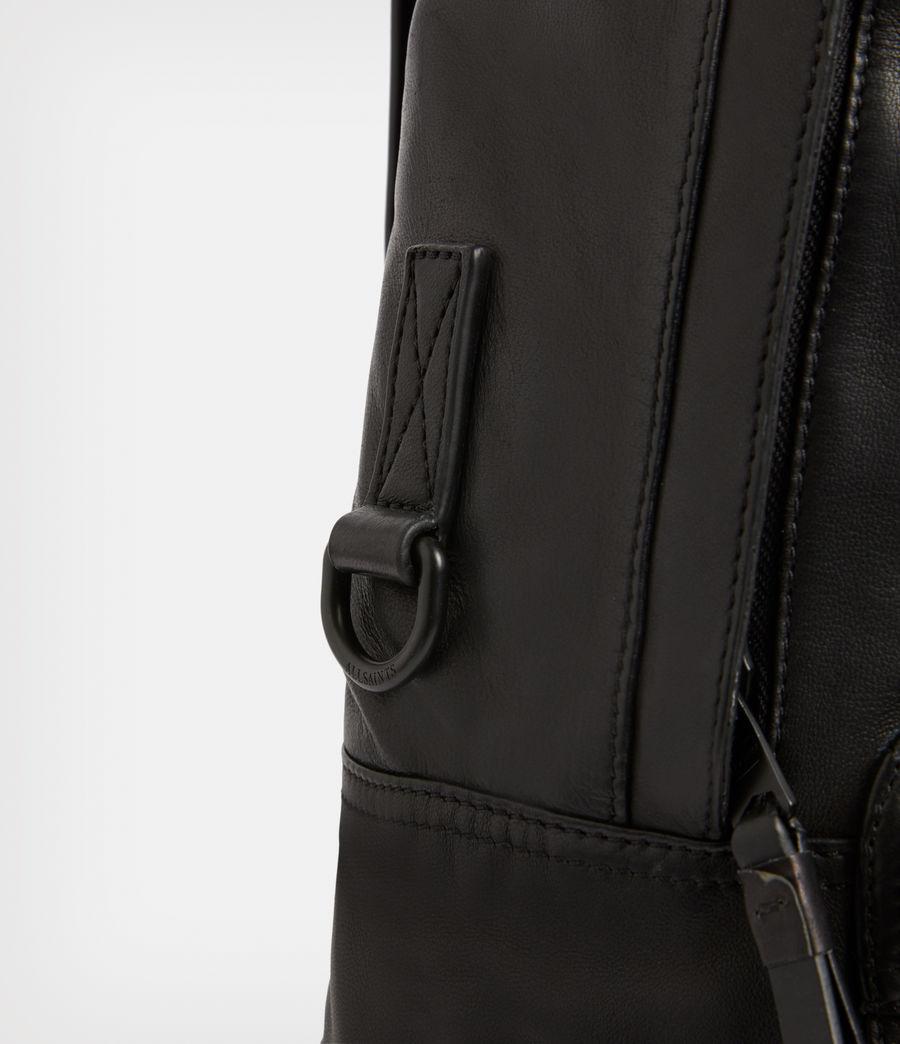 Men's Arena Leather Backpack (black) - Image 6