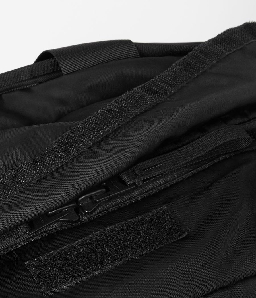Mens Sayre convertible Rucksack Tote (black) - Image 7