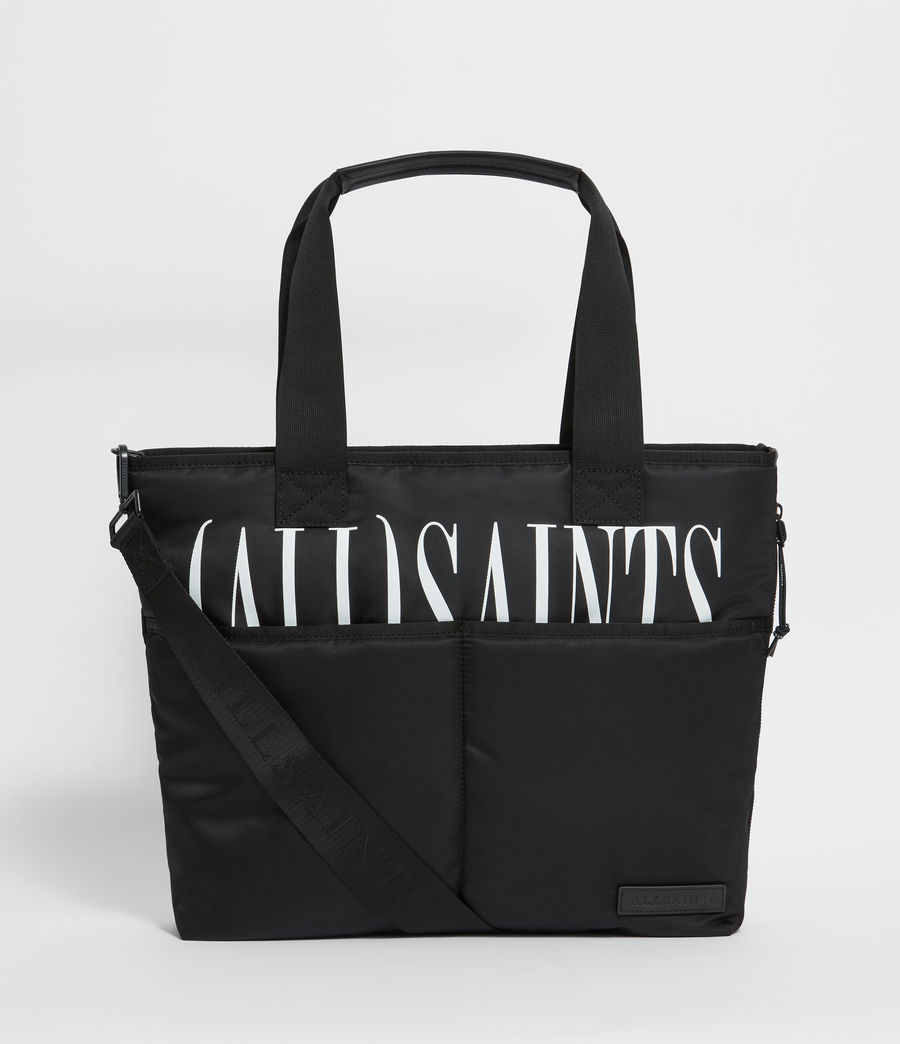 Mens Brackets Tote Bag (black) - Image 1