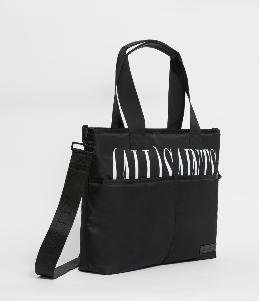 Men's Brackets Tote Bag (black) - Image 3