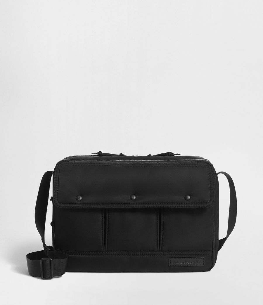 Men's Kansai Messenger Bag (black) - Image 1
