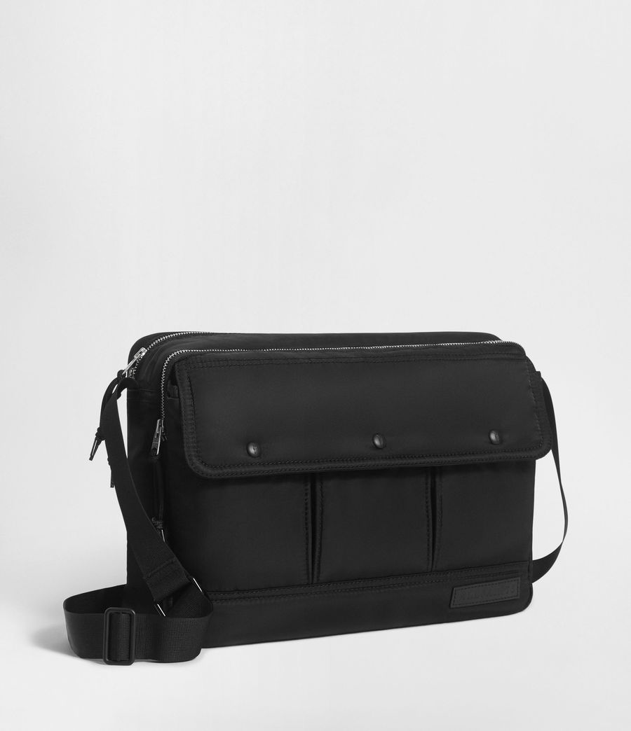 Men's Kansai Messenger Bag (black) - Image 3