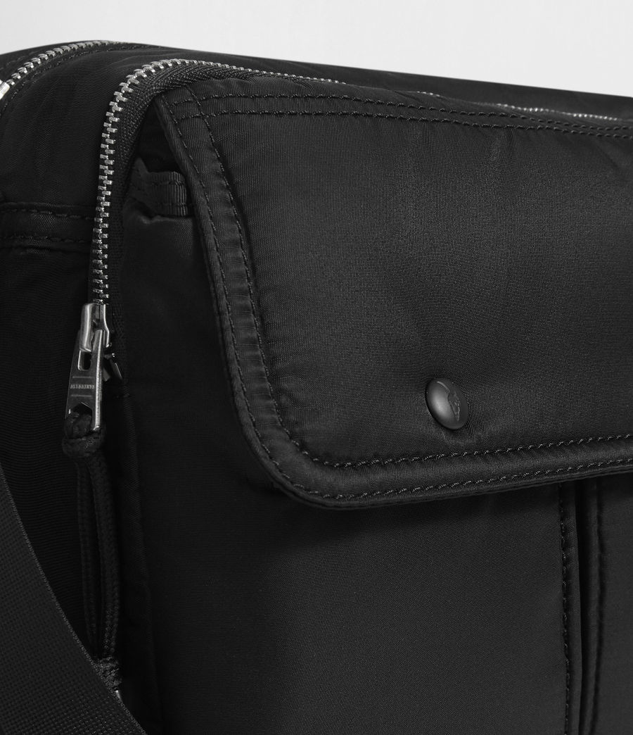 Men's Kansai Messenger Bag (black) - Image 4