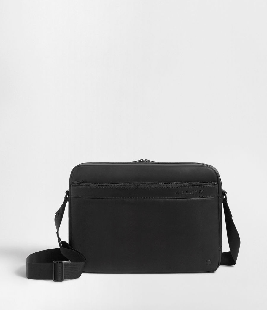 Men's Hayes Messenger Bag (black) - Image 1