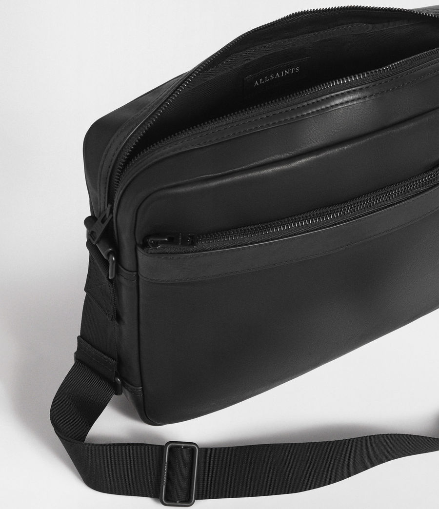 Men's Hayes Messenger Bag (black) - Image 3