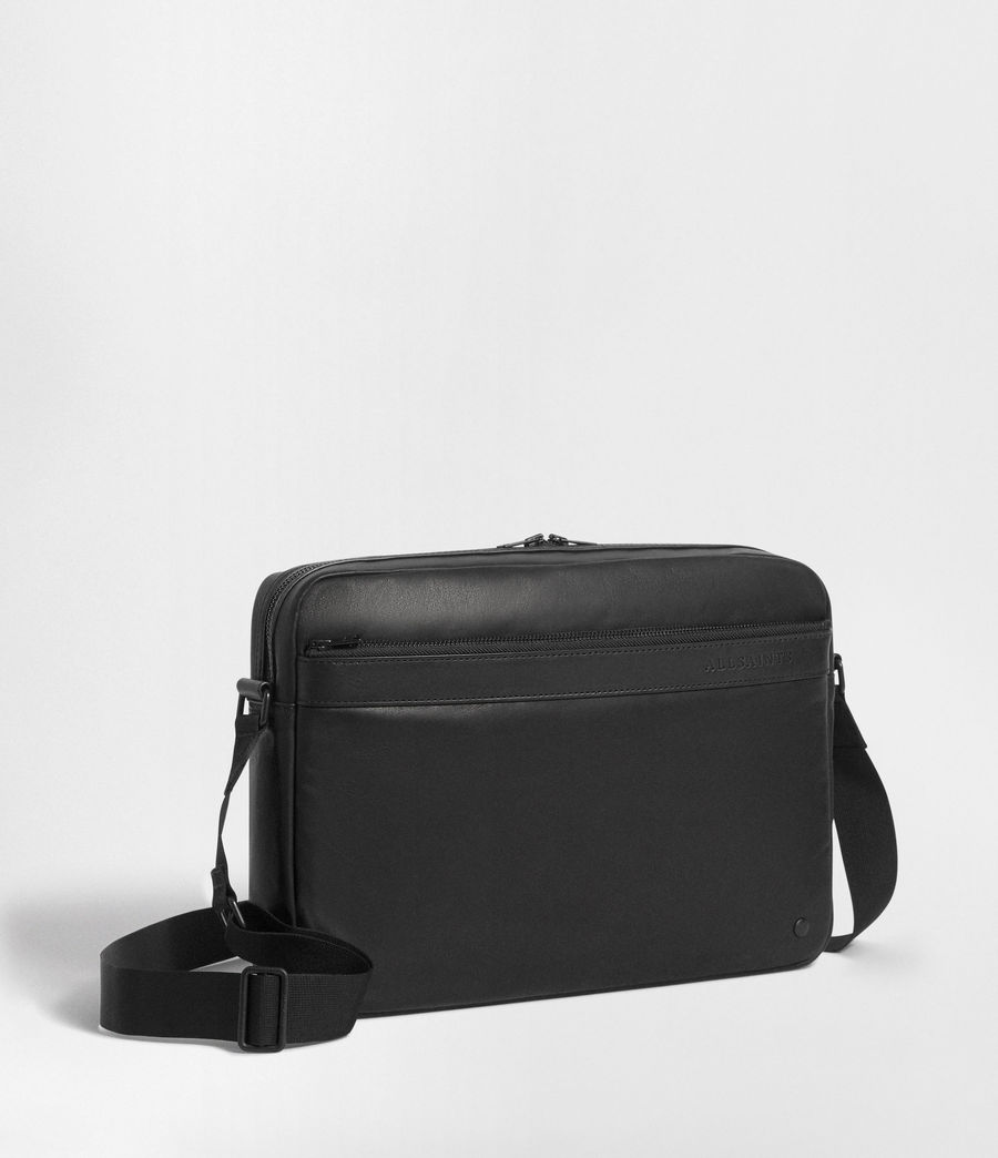 Men's Hayes Messenger Bag (black) - Image 4