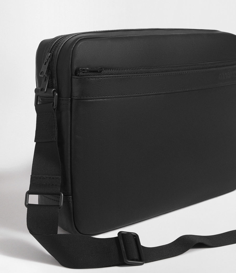 Men's Hayes Messenger Bag (black) - Image 5