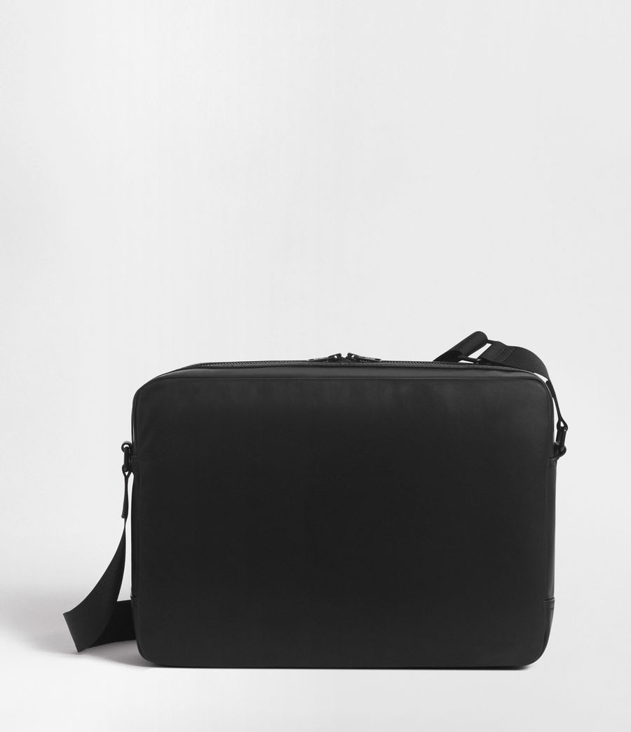 Men's Hayes Messenger Bag (black) - Image 6