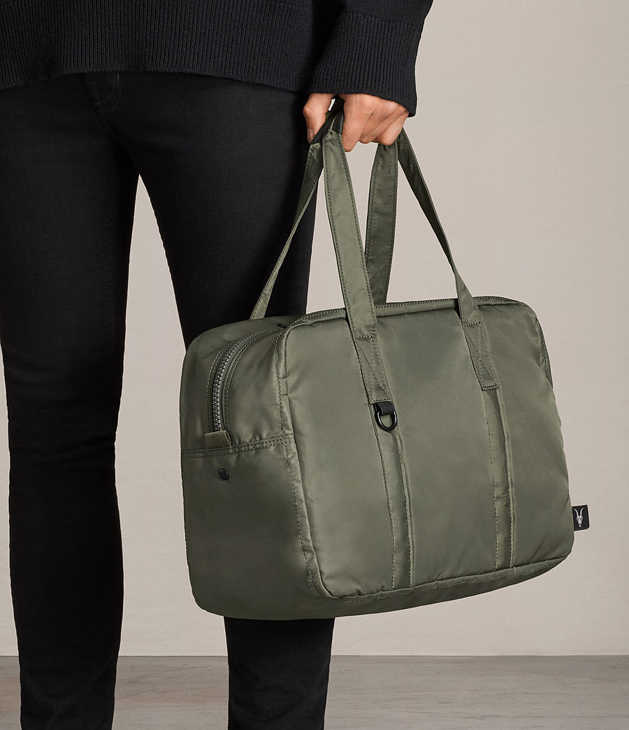 Mens Ridge Holdall (dark_khaki_green) - Image 7