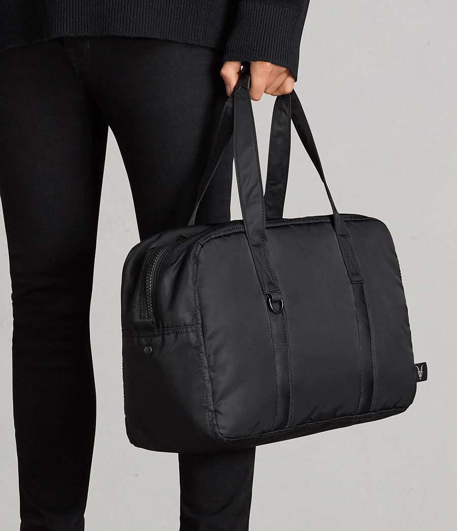 Mens Ridge Holdall (black) - Image 7