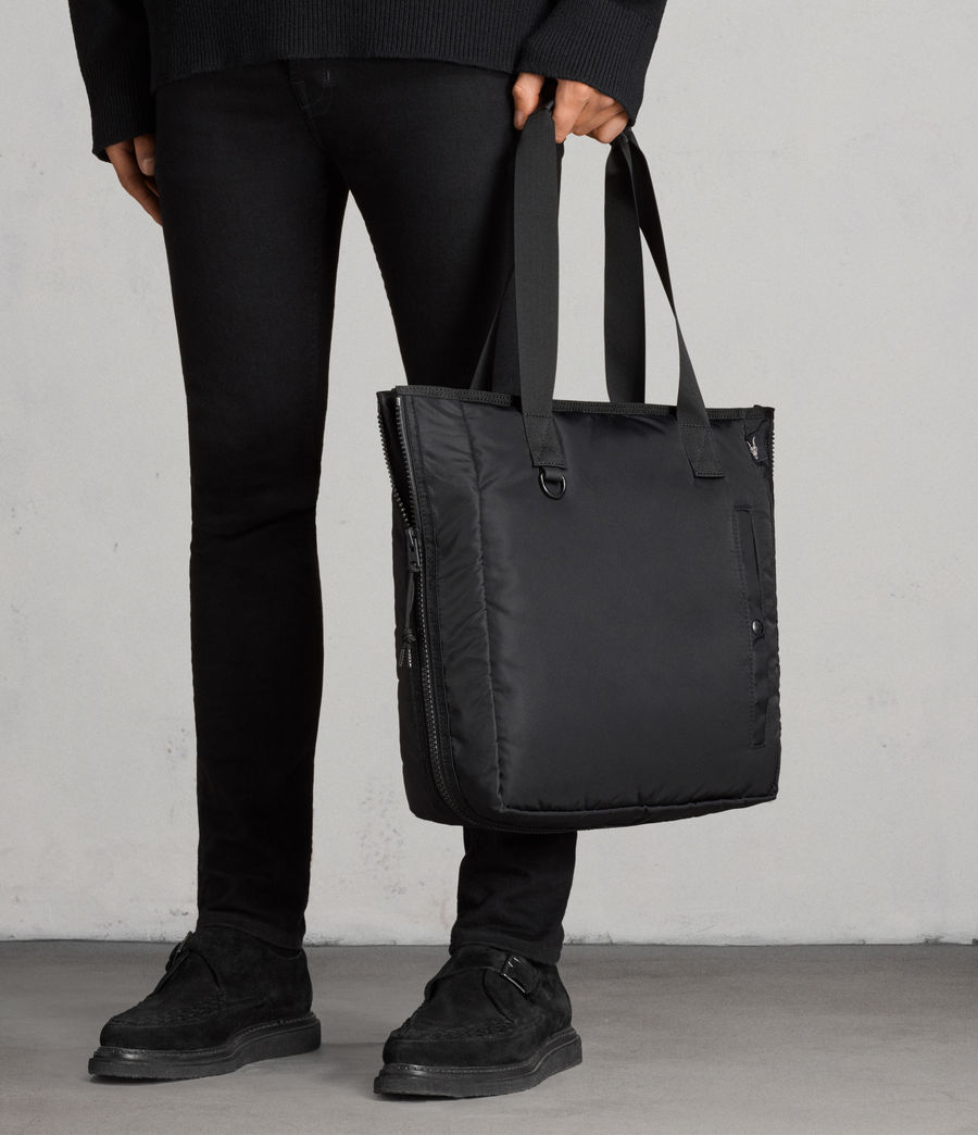 Mens Brooke Tote (black) - Image 7