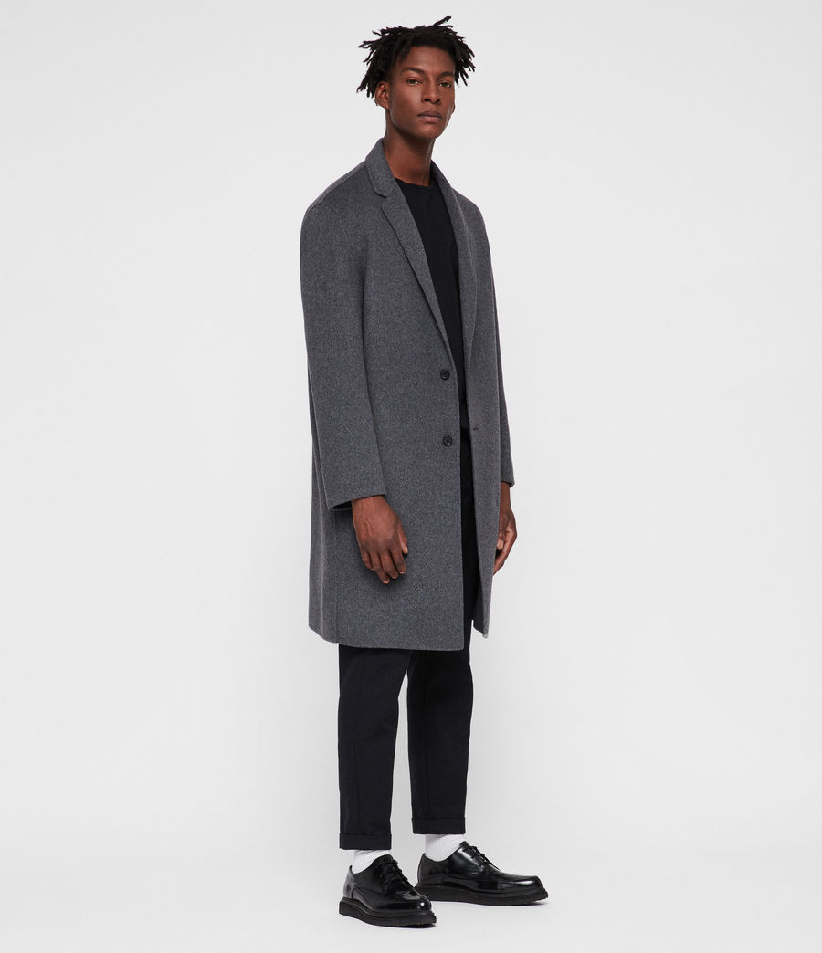 Men's Foley Coat (grey_marl) - Image 1