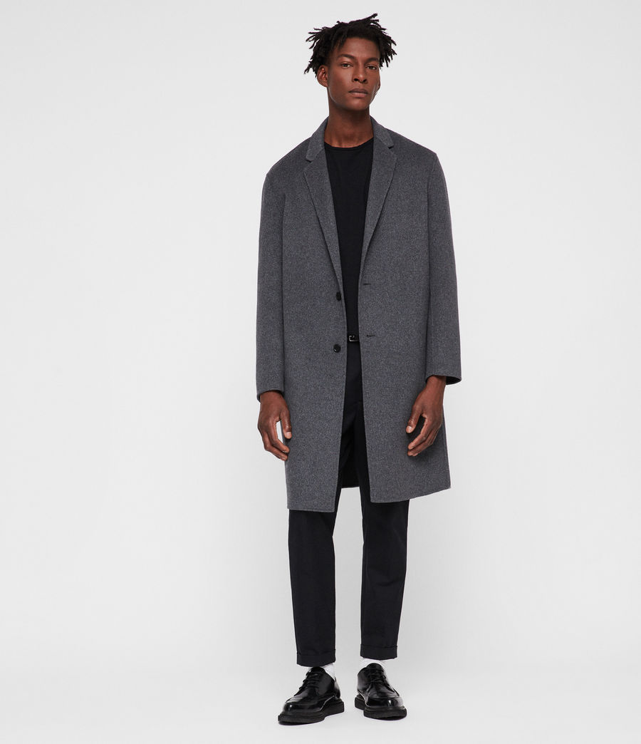 Men's Foley Coat (grey_marl) - Image 4