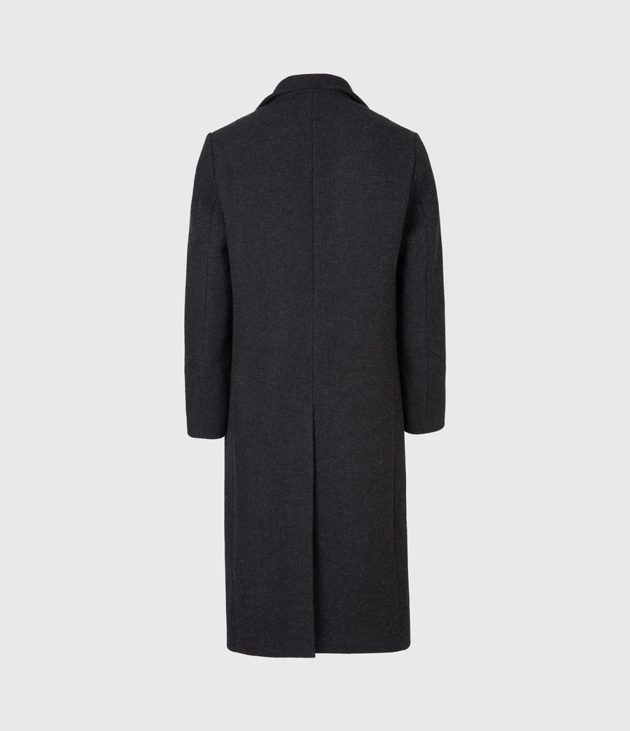 Men's Daxon Wool Blend Coat (charcoal) - Image 3