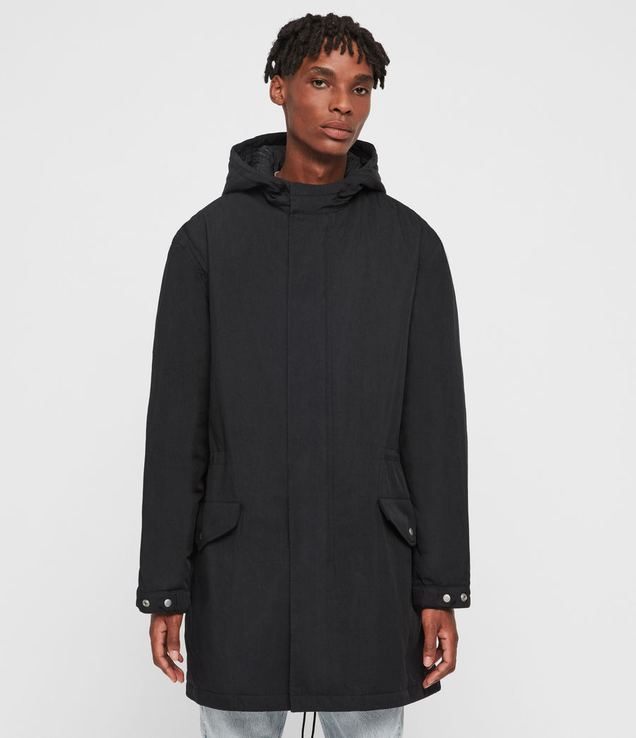 Men's Alma Parka (black) - Image 1